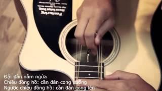 Hướng dẫn Cách chỉnh cần đàn guitar với thanh điều chỉnh.