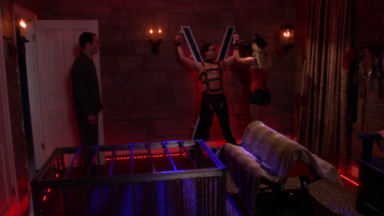 The Big Bang Theory  S10E07  Sex dungeon   YouTube