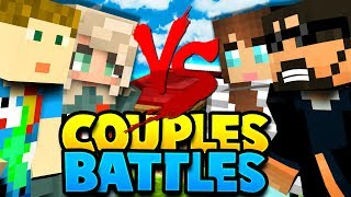2 GIRLS TAKE ON THE WORLD?! | Minecraft Bed Wars 4v4