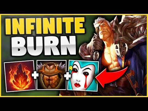 WTF?! I HAD NO CLUE THIS WOULD WORK ON GAREN! (FULL AP INFINITE BURN BUILD!) - League of Legends