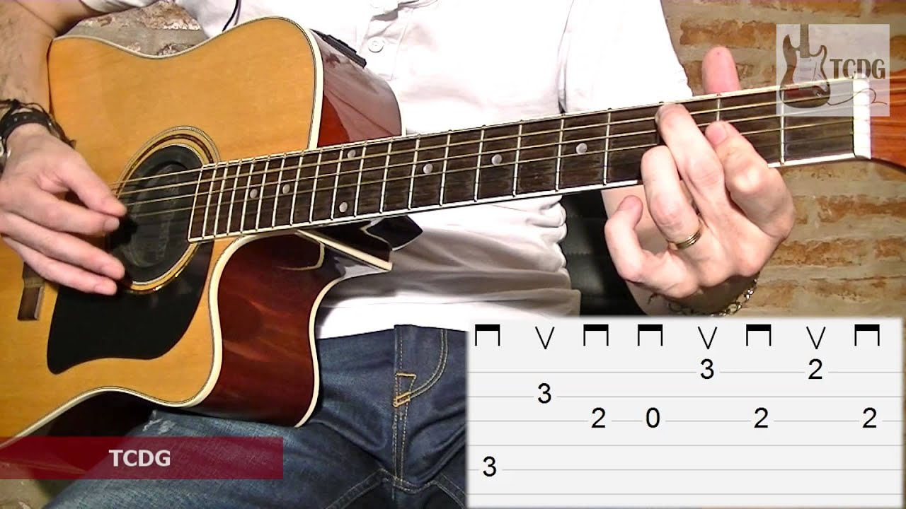 How To Play Sweet Child O Mine On Acoustic Guitar Guns N Roses