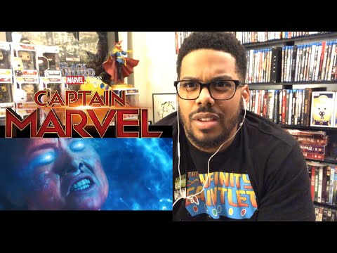 Marvel Studios' Captain Marvel | Special Look Reaction!