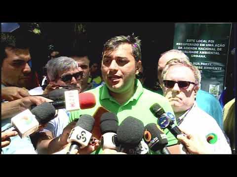 A VISITA DO MINISTRO DO MEIO AMBIENTE RICARDO SALES - 03.02.2020