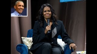 Barack Obama Surprises Michelle During Her Book Tour — and Brings Flowers! - 247 news