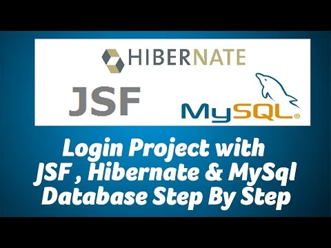 java-jsf-and-hibernate-login-project