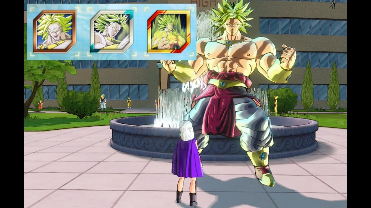 xenoverse 2 how to get train by broly