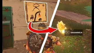 The Fortnite Treasure Map unveiled at Dusty Depot! - Krasses Fortnite Secret solved!