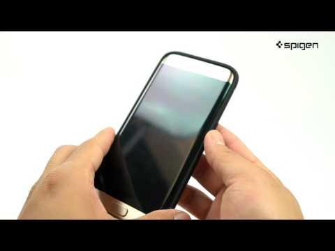 27ad616ebc7 Spigen Rugged Armor Case for Galaxy S7 Edge - YouTube
