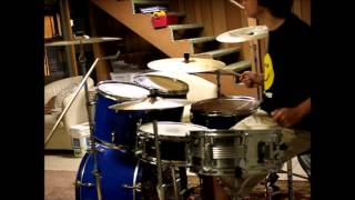 """Dragostea Din Tei"" a.k.a. The NUMA NUMA SONG by O-Zone - Drum Cover"