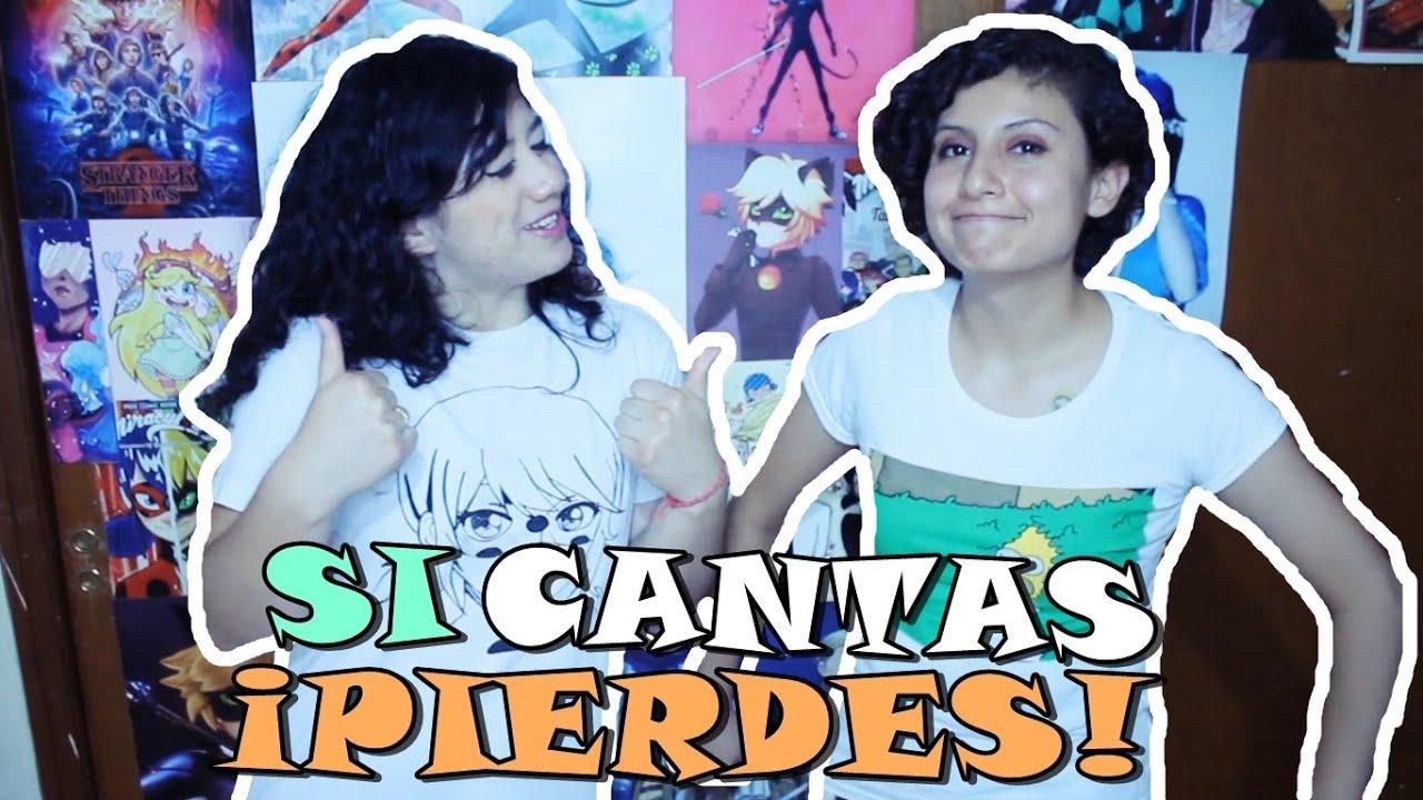 RETO: Sí Cantas... PIERDES !!! Salma AMARILLA ft Meme Andante