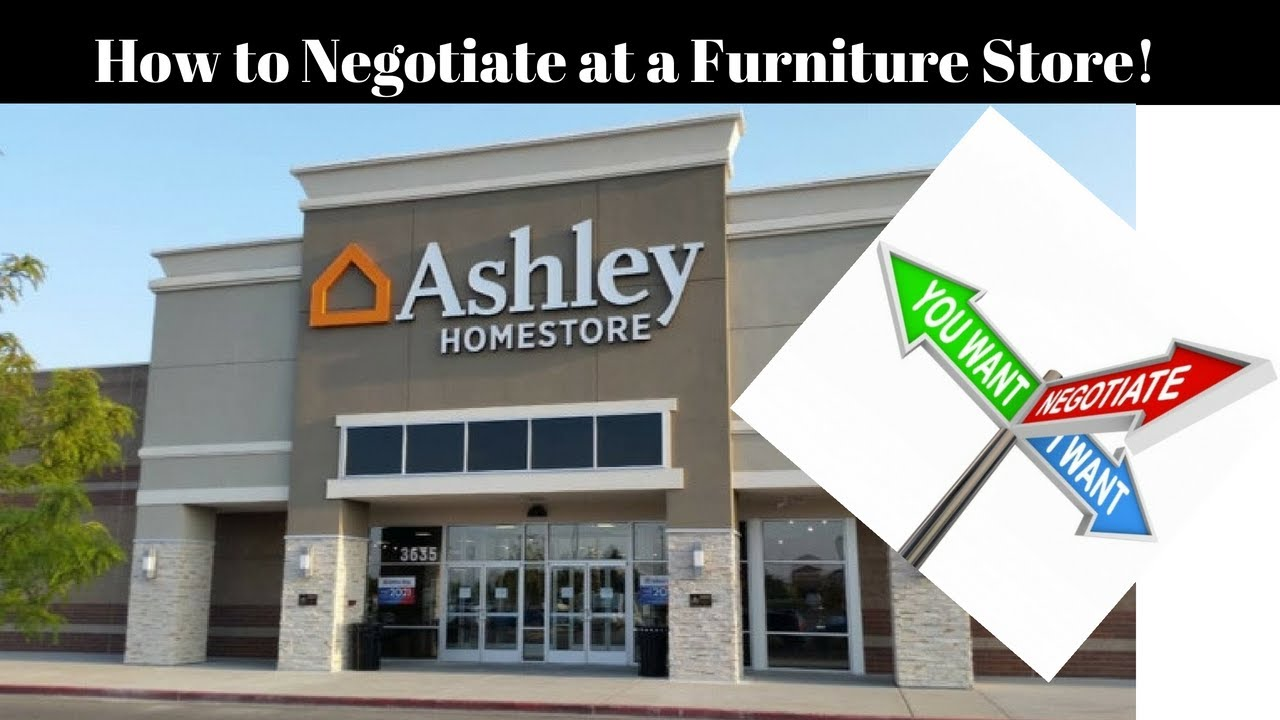 How To Negotiate For Furniture Live