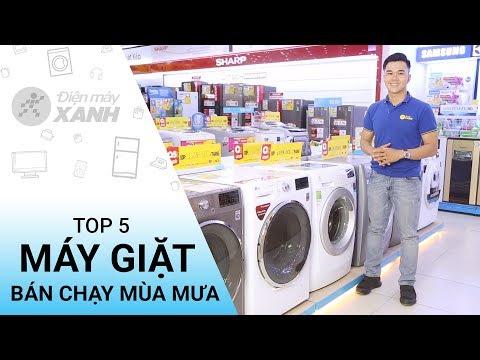 Top 5 Máy Giặt Bán Chạy Nhất Mùa Mưa - Mua Ngay Kẻo Lỡ | Điện Máy XANH