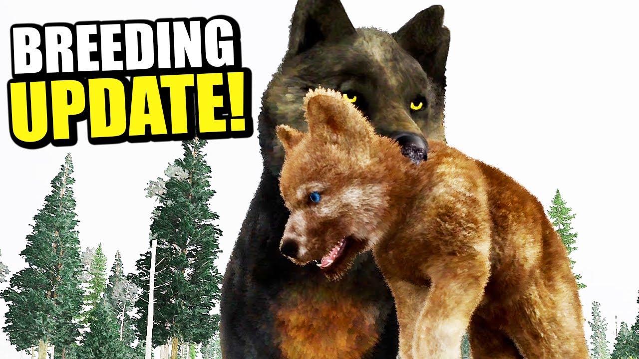 Download FINALLY PUPPIES UPDATE! Wolf Simulator Breeding & Den Building! - WolfQuest Anniversary BETA
