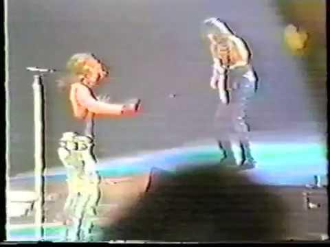 Bon Jovi - Bad Medicine (Video Shoot, L.A. 1988)