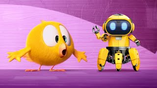 Wheres Chicky?  THE ROBOT  Chicky Cartoon in English for Kids