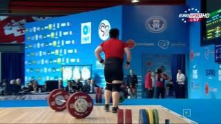 Тяжелая атлетика. Чемпионат Европы 2015 г. Женщины свыше 75 кг. Супертяжи.
