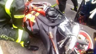 Accidente de motos II Autopista México - Cuernavaca 10 de diciembre 2016