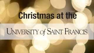 Christmas Greetings from the University of Saint Francis