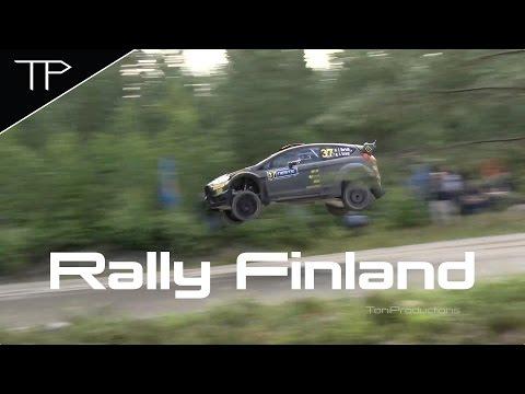 Day 1 Highlights - WRC Neste Oil Rally Finland 2015
