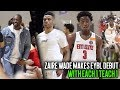 Russell Westbrook & Dwyane Wade watch Zaire Wade Make Nike EYBL Debut with E1T1