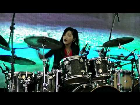 WAKA WAKA Metal Version (Frog Leap Studios)Drum cover by Nur Amira Syahira