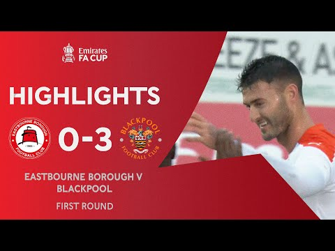 Eastbourne Boro Blackpool Goals And Highlights