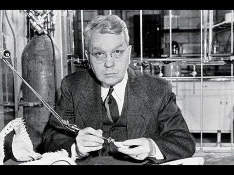Harold Urey lecturing at UCLA 4/10/1968