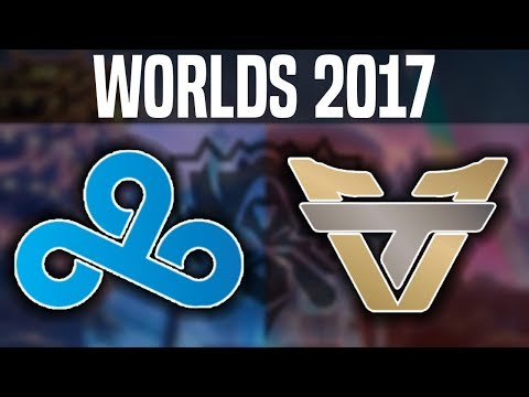 C9 vs oNe - Worlds 2017 Play In Day 1 - Cloud 9 vs Team oNe | Worlds Championship 2017
