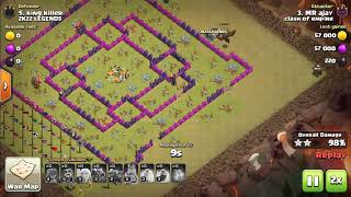 coc - clan - clash of empire  war startegy war attacks