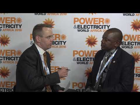Power & Electricity World Africa 2018 interview with Emmy Matovu