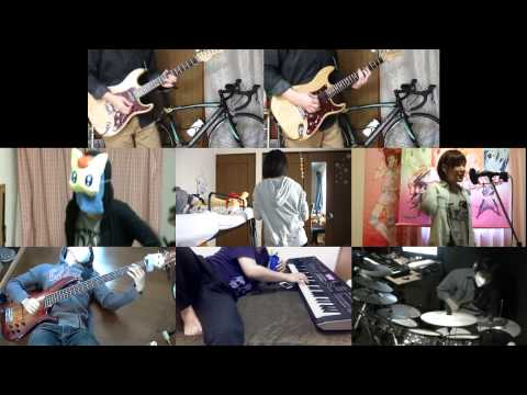 [HD]Haiyore! Nyaruko san W OP [Koi wa Chaos no Shimobe nari] Band cover