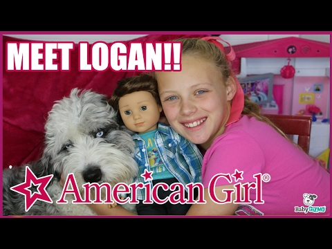 NEW AMERICAN GIRL BOY DOLL! MEET LOGAN EVERETT!