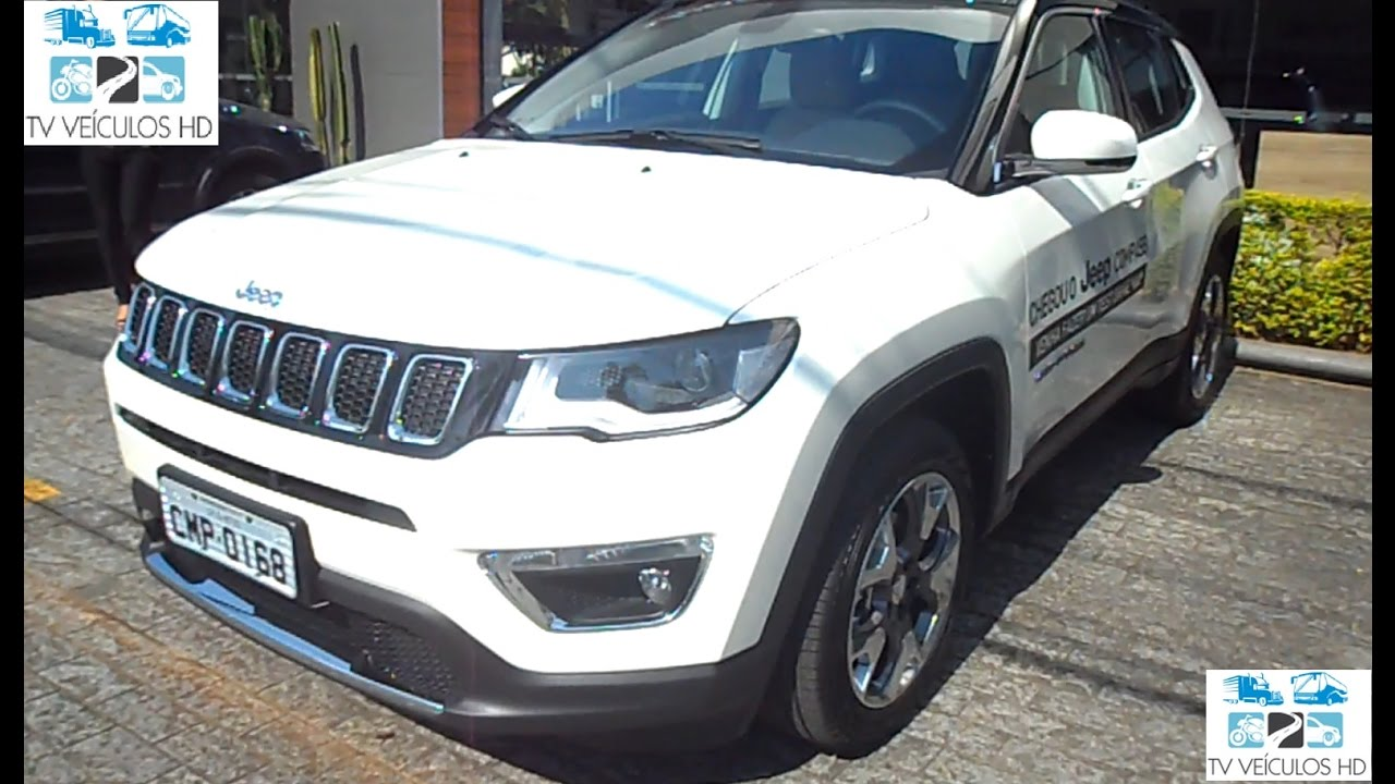 2017 Jeep Compass Longitude Limited 2 0 16v Flex Tigershark Hd