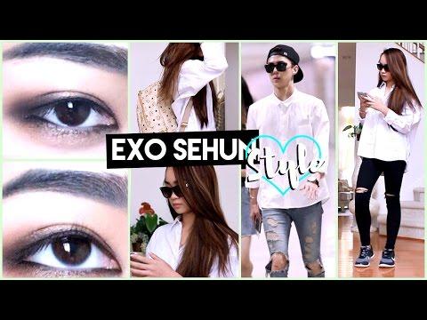 KPOP STYLE ✘ EXO Sehun Inspired Look #HappySehunDay