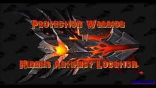 WoW Protection Warrior Hidden Artifact Weapon Location & Guide