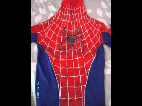 Handmade Spiderman Replica Costume  sc 1 st  YouTube & Handmade Spiderman Replica Costume - YouTube