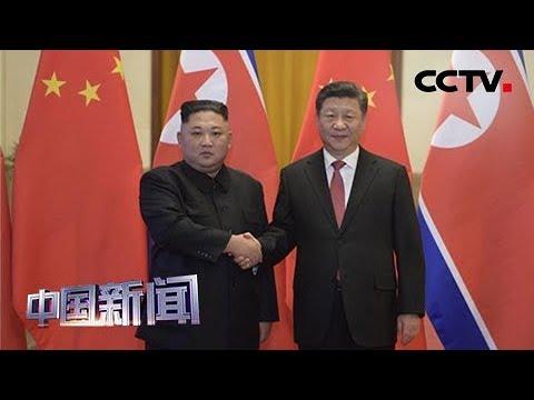 [中国新闻] 习近平同朝鲜劳动党委员长金正恩举行会谈   CCTV中文国际