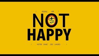 "We are Not ""HAPPY"" - Inspired by Pharrell Williams from Notre Dame des Landes"