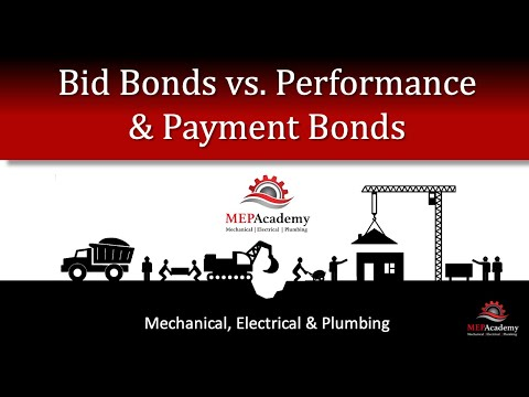 Construction Bid Bond with Performance and Payment Bond