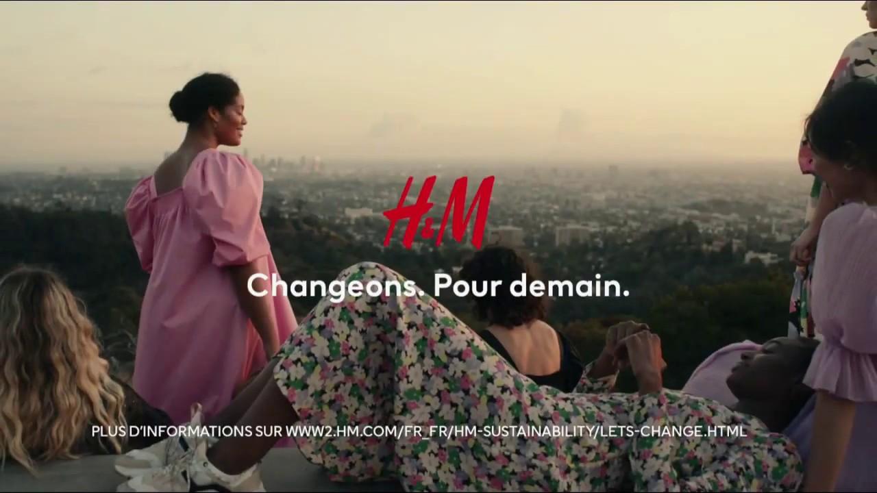"""Musique de la pub H&M """"Changeons. Pour demain""""  2021"""