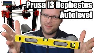 Autolevel y mejoras para Impresora 3D Prusa I3 Hephestos
