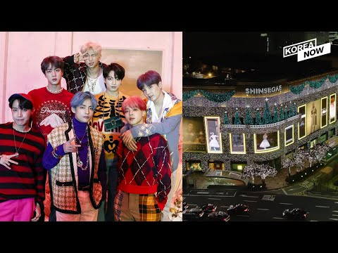 "ARMY's Power?  Shinsegae to give up ""BTS"" trademark rights"