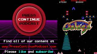 Galaga Series (Arcade) - Press Continue Podcast ep5