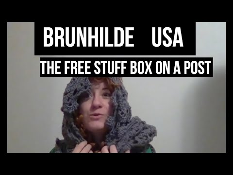 Brunhilde USA: The Free Stuff Box on a Post