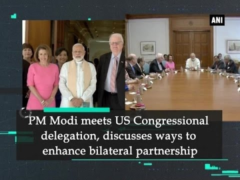 PM Modi meets US Congressional delegation, discusses ways to enhance bilateral partnership