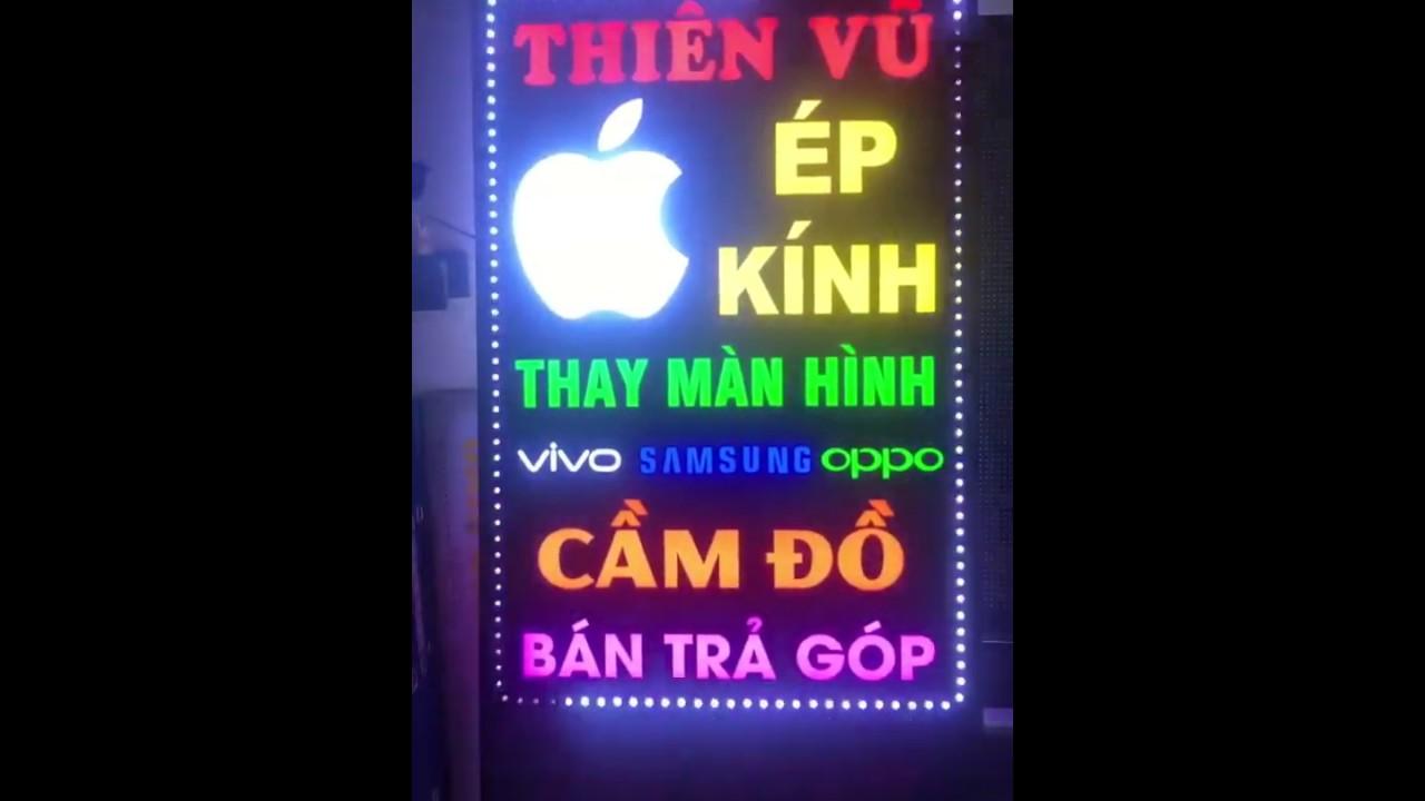 Biển vẫy led hộp đèn mica siêu đẹp, ấn tượng nhất Việt Nam
