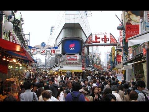 """""""Ameyoko"""" Market - Ueno, Tokyo ᴴᴰ ● アメ横 上野"""