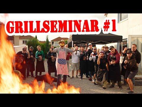 Das wahnsinnigste GRILLSEMINAR der Welt!!! - Johnny und der Smoke King in ACTION - Die Grillshow 255