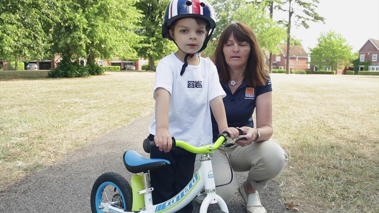 how to teach your child to ride a balance bike