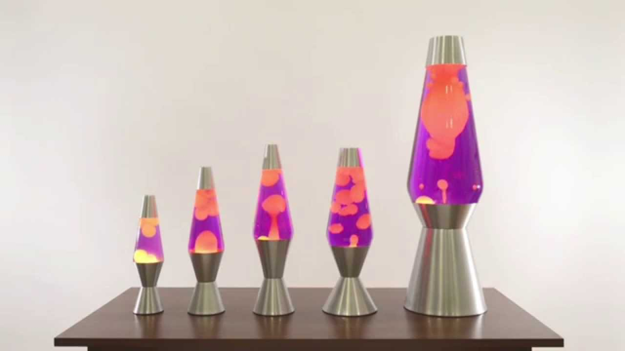 5 Sizes of Lava Lamps from Lava Lite - YouTube